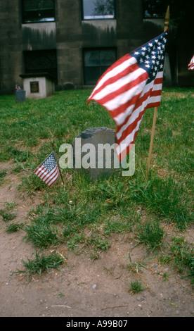 Paul Reveres Grave - Stock Image
