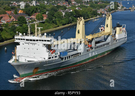 Heavy-Lift-Ship Lone - Stock Image