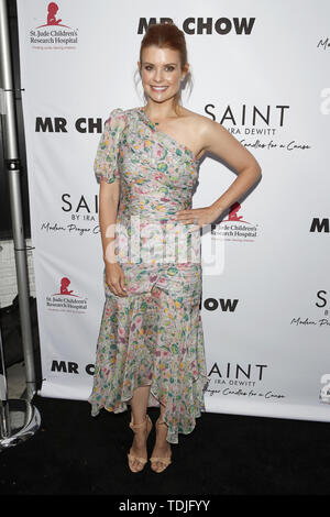June 12, 2019 - Beverly Hills, CA, USA - LOS ANGELES - JUN 4:  Joanna Garcia Swisher at the SAINT Modern Prayer Candles For A Cause Launch at the Mr. Chow on June 4, 2019 in Beverly Hills, CA (Credit Image: © Kay Blake/ZUMA Wire) - Stock Image