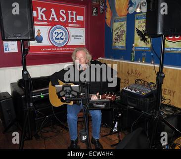 Music at KAsh22, Frodsham,Cheshire, England,UK - Stock Image