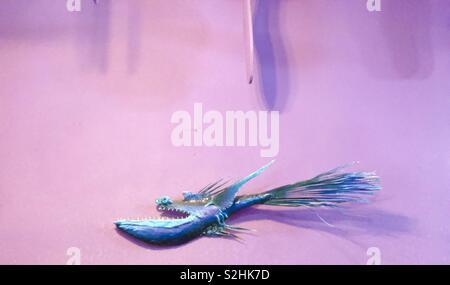 Blue fish - Stock Image