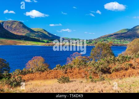 Crummock Water, Coniston, Lake District National Park, Cumbria, England, UK, Europe. - Stock Image