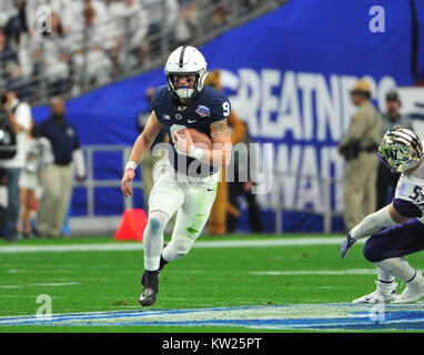Glendale, AZ, USA. 30th Dec, 2017. QB Trace McSorley #9 of Penn State in action during the Playstation Fiesta Bowl - Stock Image