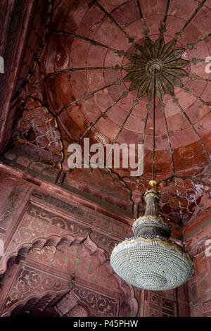 Jama Masjid Mosque, Old Delhi, Delhi, India - Stock Image
