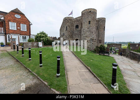Rye Castle in Rye, East Sussex, England, UK - Stock Image