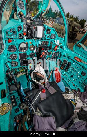 Cockpit - Stock Image