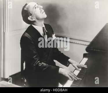 Searching for the melody - Stock Image