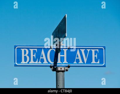 Beach Ave - Stock Image