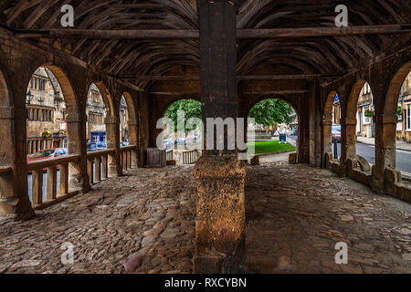Old Market Hall,  High Street Chipping Campden,  Gloucestershire; UK - Stock Image