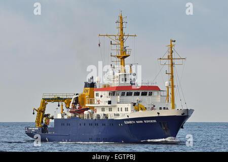 Research vessel Elisabeth Mann Borgese - Stock Image