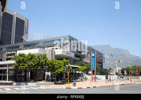 Civic Centre in Cape Town City, South Africa - Stock Image