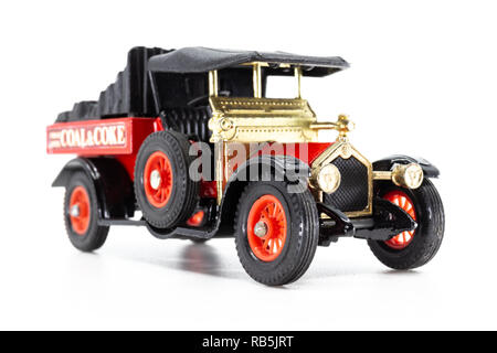 Matchbox Models of Yesteryear Y-13 Crossley 1918 - Stock Image