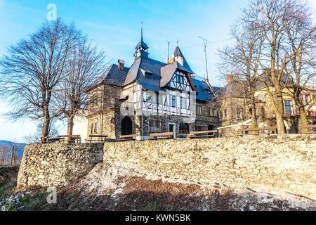 Castle, Teplice v Cechach, Czech Republic - Stock Image