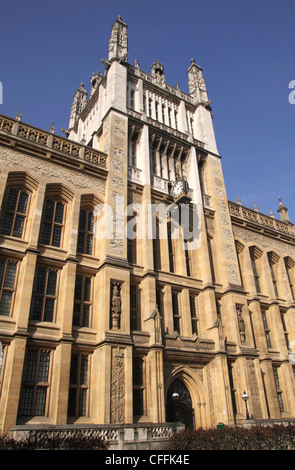 Kings College Maughan Library London - Stock Image