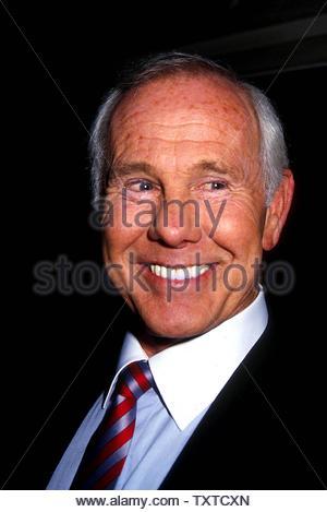 Johnny Carson Credit: 1248889Globe Photos/MediaPunch - Stock Image