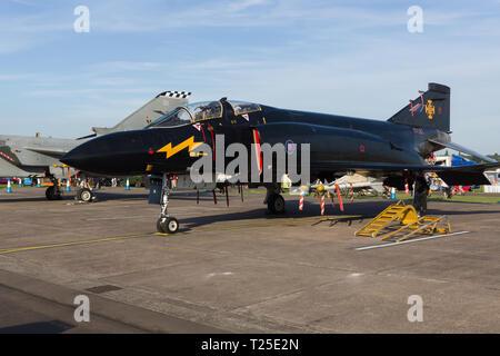 McDonnell Douglas Phantom II FGR.1 nick named Black Mike - Stock Image