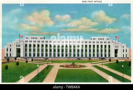 New Post Office, Minneapolis, Minnesota, USA.      Date: 1935 - Stock Image