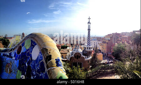 Parc Guell - Stock Image