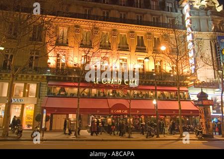 Paris France Le Grand Cafe Bd de Capucines - Stock Image