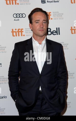 Sept. 7, 2012 - Toronto, Ontario, Canada - Actor MATTHEW MACFADYEN  attends the 'Anna Karenina' premiere - Stock Image