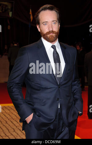 Matthew Macfadyen The World Premiere of 'The Three Musketeers 3D' at the Vue Cinema, Westfield. London, - Stock Image