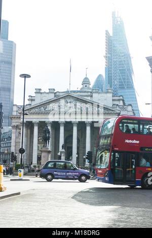 Bank - City of London - Stock Image