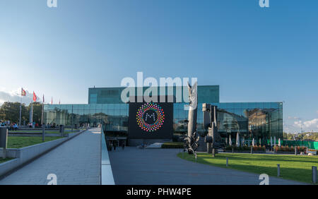 Helsinki Music Center and home of the Sibelius Academy - Stock Image