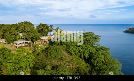 Tufi Dive Resort, Tufi, Cape Nelson, Papua New Guinea - Stock Image