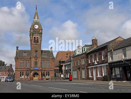 Annan town hall,Annan, Dumfries & Galloway - Municipal buildings - Stock Image