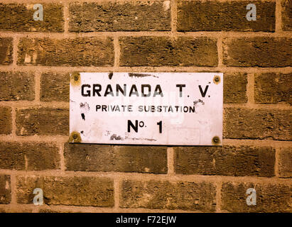 Granada T V Substation No. 1 - Stock Image