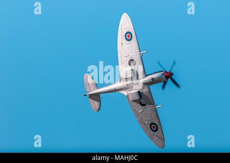 RAF Spitfire, Battle of Britain Memorial Flight - Stock Image