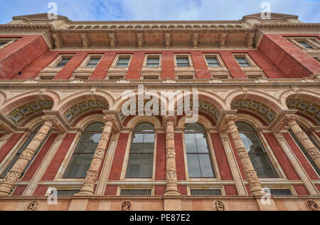 The victoria and albert museuem london - Stock Image