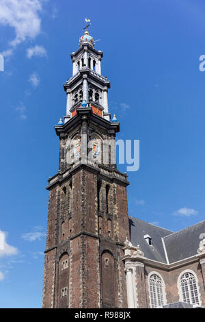 The Westerkerk church in Amsterdam, Netherlands - Stock Image