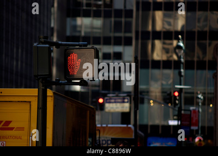 Side walk signal - Stock Image