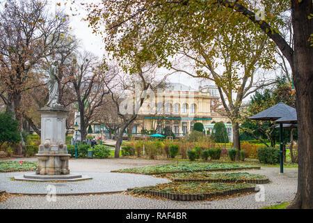 Vienna City Park, 1st District, Vienna, Austria, Europe. - Stock Image