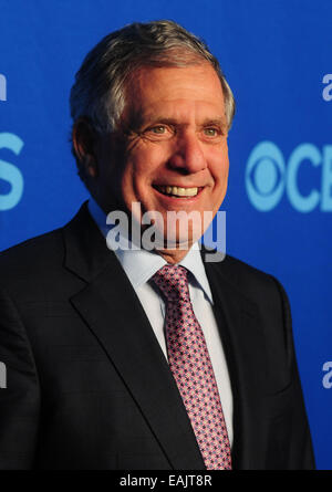 CBS presented its 2014-15 prime time schedule at Carnegie Hall, where many of the Network's new and returning - Stock Image