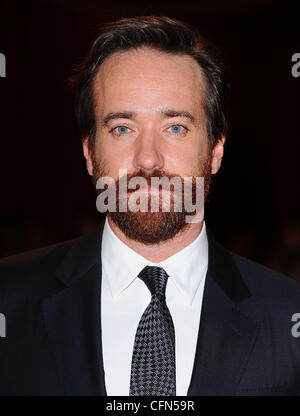 Matthew Macfadyen at the premiere of The Three Musketeers at Westfield, London, England- 04.10.11 - Stock Image