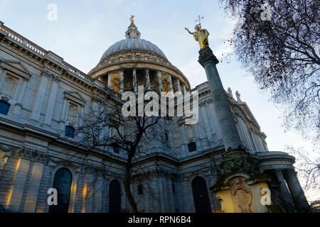 St.Paul's cathedral, London, United Kingdom. - Stock Image