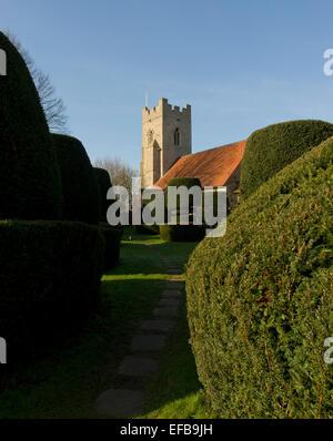 Borley Parish Church - Stock Image