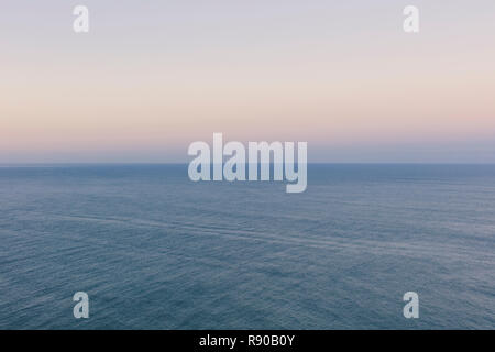 Seascape abstract at dusk - Stock Image