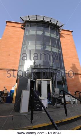 Former Bank of Scotland Nethergate Dundee Scotland  26th February 2019 - Stock Image