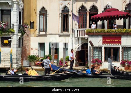 Venice gondola - Stock Image
