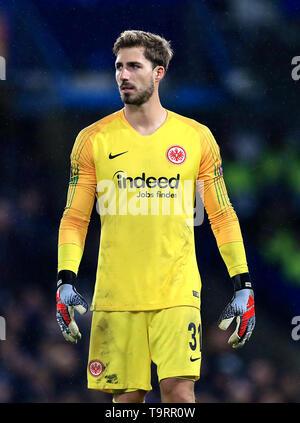Eintracht Frankfurt goalkeeper Kevin Trapp - Stock Image