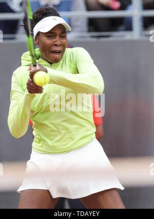 Rome IBI19 International Bnl Tennis - Venus Williams vs. Elise Mertens  When: 13 May 2019 Credit: IPA/WENN.com  **Only available for publication in UK, USA, Germany, Austria, Switzerland** - Stock Image
