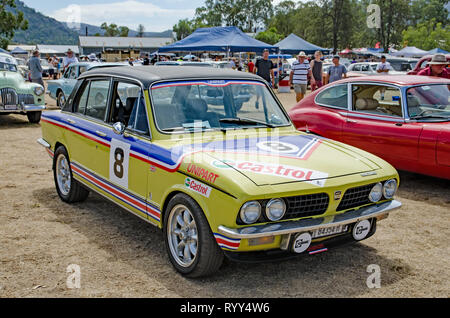 1973-74 Triumph Dolomite Sprint in rally paint. - Stock Image