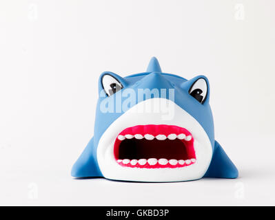 Shark amplifier for iPhone music - Stock Image