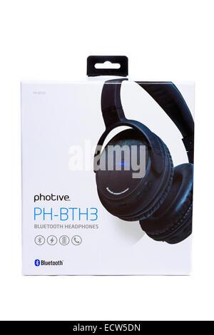 Bluetooth Headphones - Stock Image