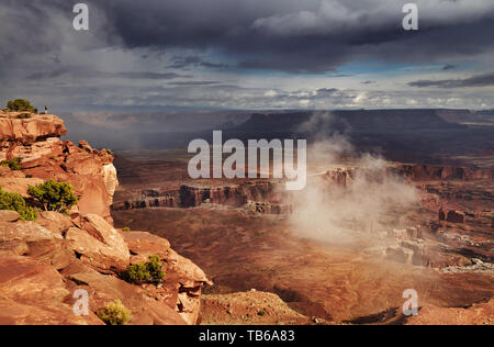 Island in the Sky, Canyonlands National Park, Utah, USA - Stock Image