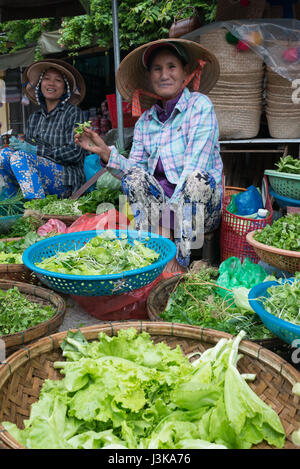 outdoor market Hoi An - Stock Image