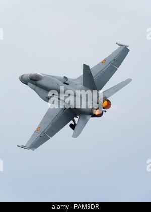 F-18 Hornet Spain - Stock Image